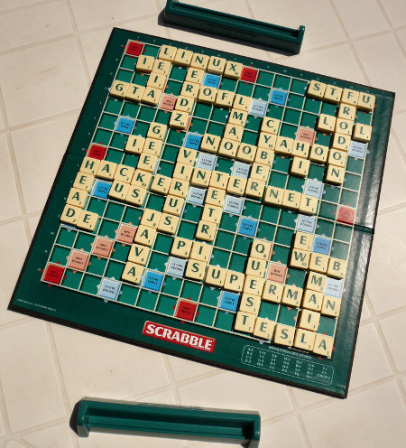 Scrabble de geek