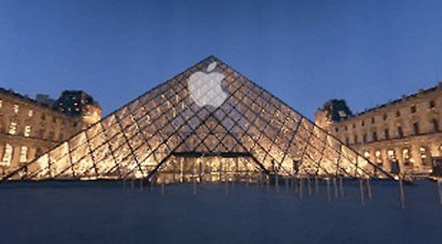 Apple Store - Louvre, Paris