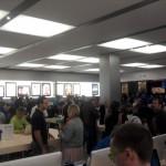 Apple Store Vélizy 2 - Vue intérieure - Photo: geekinside.eu
