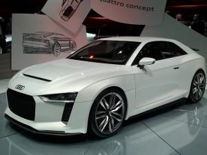 La Quattro de Audi : pas mal, pas mal :)